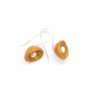 Pearl Earrings Gold