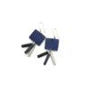 Dark Azure Earrings