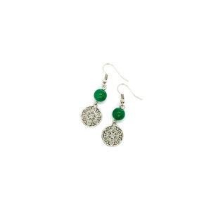Green Jasmine Earrings